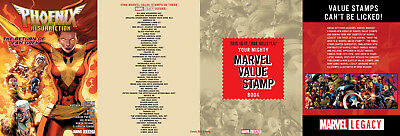 Marvel Value Stamp Collector Album (2017) 1St Printing Marvel Legacy Tie-In