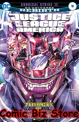Justice League Of America #18 (2017) 1St Printing Dc Universe Rebirth