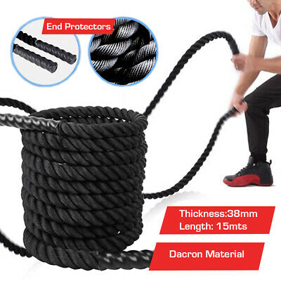 Battle Rope Training Bootcamp Power Sport Exercise Battling Fitness Workout