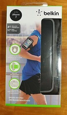 Belkin - Sport-Fit Plus Armband for Apple® iPhone® 7  - Black Brand New!!