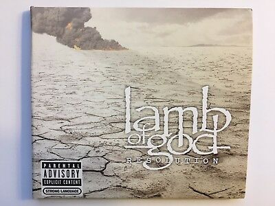 Resolution by Lamb of God (Mint Condition)
