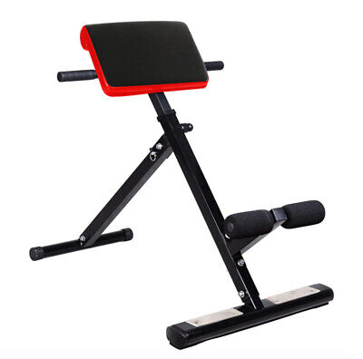 Back Extension Bench Hyperextension Roman Chair Hyper Extension Abs Fitness