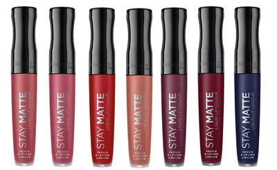 Rimmel Stay Matte Liquid Lip Colour Lipstick 5.5ml Water- and Touch Proof Differ