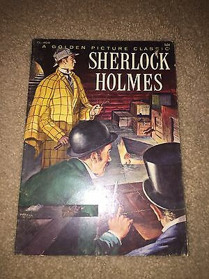 """1957 Golden Picture Classic """" Sherlock Holmes""""  Cl-408 Very Nice Use Scans"""