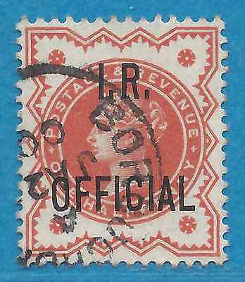 Great Britain  O11  Used  Victoria Inland Revenue Official