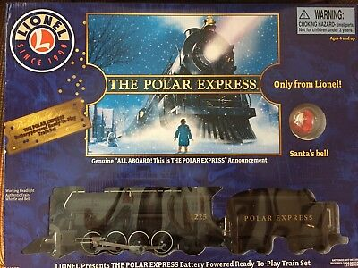 NEW Lionel Large Scale Polar Express Ready-To-Play Train Set 7-11803 Battery