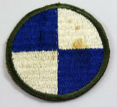 Vintage WW2 IV Army Corps 4th Corps Military Patch