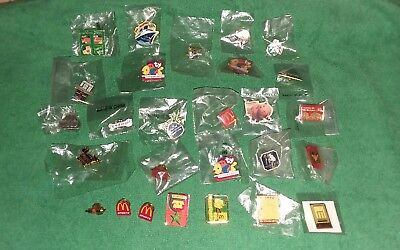 Lot # 4 - LOT OF (27) -- McDonald's COLLECTABLE Lapel PIN'S