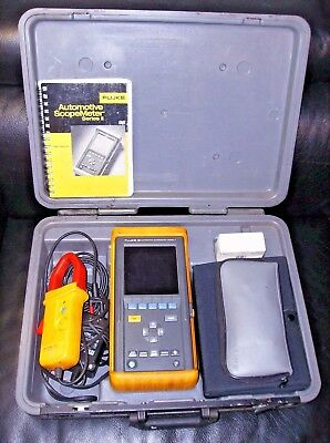 Fluke 98 Automotive Scopemeter Series Ii Diagnostic Tools Equipment Multimeter