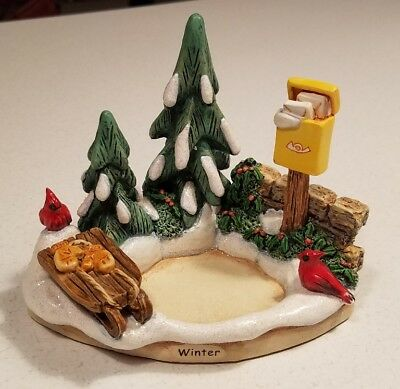 2004 Goebel Winter Magic Display 1114-D Hummelscapes Hummel Christmas NEW