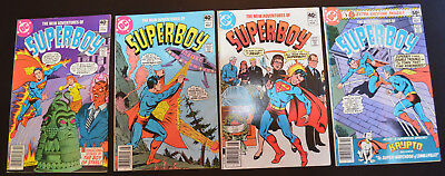 THE NEW ADVENTURES OF SUPERBOY (4-Book) DC Comic LOT #2 5 8 10 - HIGH GRADE