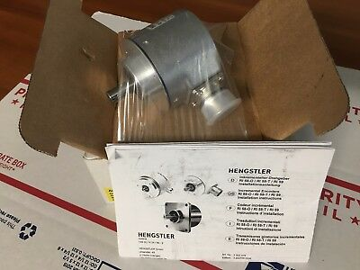 Hengstler 0 522 538 RI58-O/5EK.42KD Encoder, 5 Pluses , NEW, WARRANTY