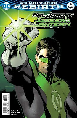 Hal Jordan and the Green Lantern Corps #4 variant (Rebirth) 1st Print DC Comics
