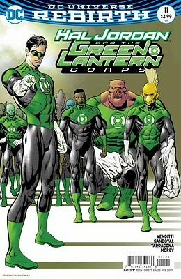 Hal Jordan and the Green Lantern Corps #11 variant (Rebirth) 1st Print DC Comics