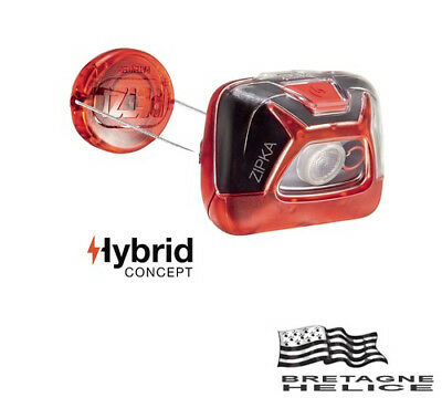 Lampe Frontale Zipka Petzl Rouge 200 Lumens Lumiere Blanche Ou Rouge