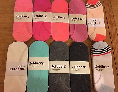 3 X LADIES WOMENS INVISIBLE FOOTSIES TRAINER SHOE LINER BALLERINA SOCKS size 4-7
