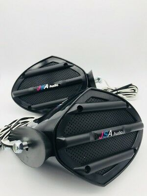 Yamaha  MIRROR JET SKI SPEAKERS STEREO UNIVERSAL FIT ON SEADOO PAIR