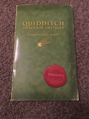Harry Potter Quidditch Through The Ages 2001 Edition Comic Relief Version