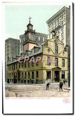 CPA Old State house from Washington Street Boston Mass