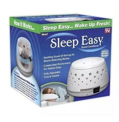 Sleep Easy Sound Conditioner White Noise Machine baby therapy New