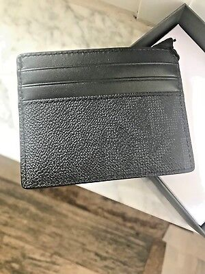 Michael Kors Giftables Jet Set Mens / Unisex Tall Card Case in Pvc & Leather-Blk