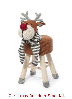 Reindeer Stool Crochet Kit