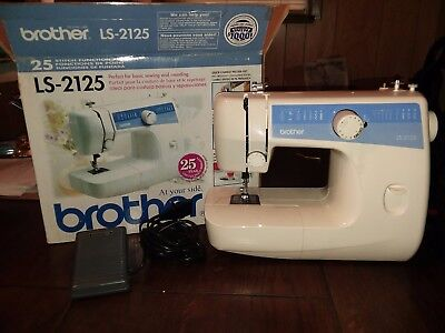 how to use a brother 17 stitch sewing machine jx2517