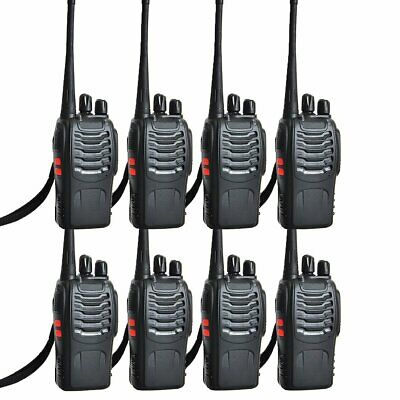 8 Ricetrasmittenti Boafeng Radio Uhf 400-470 Mhz Walkie Talkie Two-Way 16 Canali