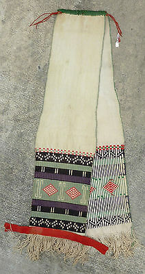 Antique Hopi Ceremonial Dance Sash Textile – Museum / Collector Provenance