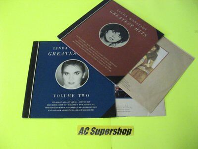 Linda Ronstadt greatest hits / greatest hits volume two - Lot 2 LP LP Record