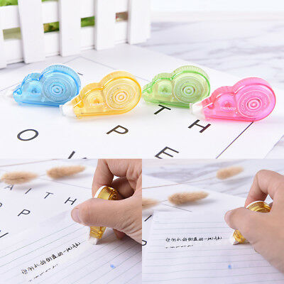 Colorful Roller 4M White Out Correction Tape School Offices Study StationeryTool