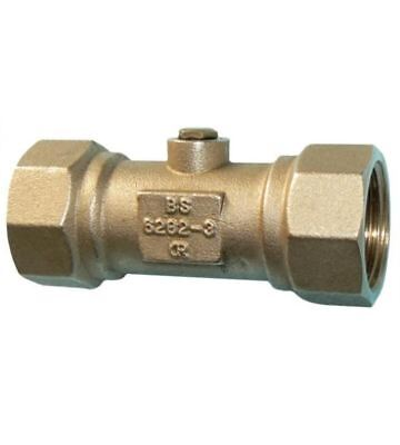 """3/4""""  Double Check Valve  - DZR Female Thread - PACK OF 2"""