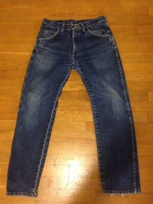 Vintage Wrangler 30x29 Dark Blue Denim Jeans