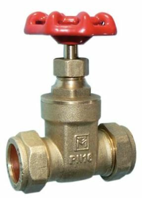 22mm DZR Gate Valve - PACK OF 2