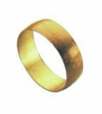22mm Brass Olive - PACK OF 5
