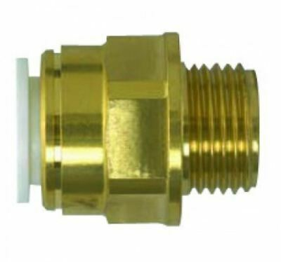 "15mm x 1/2"" SPEEDFIT Tapered Brass Male Adapter - PACK OF 10"