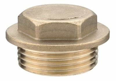"""1/2"""" Brass Flanged Plug - PACK OF 5"""