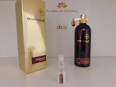Decant 2ml Montale Intense Cafe  / The Best Price Guaranteed! Fast Shipping!