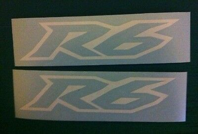 Outline 150mm x2 Tank Fairing Decals Exup Sticker All Colours