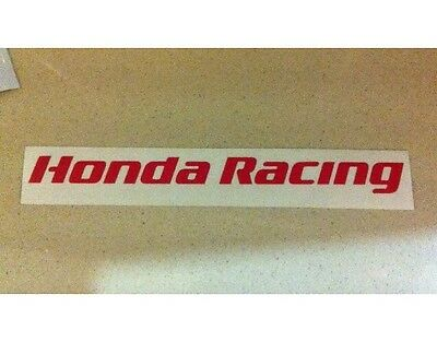 CBR Honda Racing TT Fireblade BSB 100mm Sticker Decal All colours