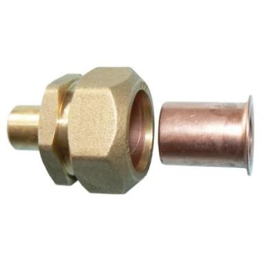 22mm x 25mm MDPE PSA DZR Adaptor - PACK OF 2