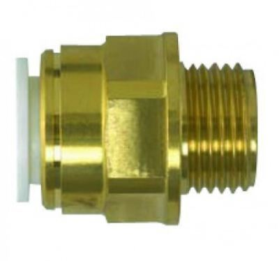"22mm x 3/4"" SPEEDFIT Tapered Brass Male Adapter - PACK OF 5"