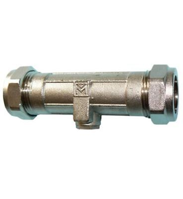 22mm DZR Double Check Valve - PACK OF 2