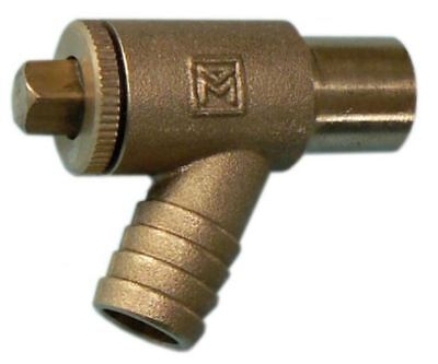 15mm Type A DZR Draw Off Cock - PACK OF 5