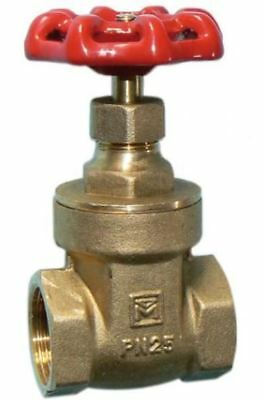 "1/2"" Gate Valve - Threaded - PACK OF 2"