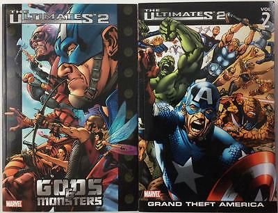 Ultimates 2 TPB Vol #1 & #2 (2005/7 Marvel) 1st prints