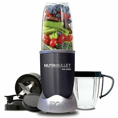 NEW Nutribullet 1000W N10-0907DG 9 Piece Set