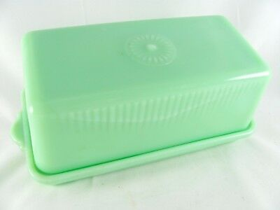 Vintage Mckee Jadite Jadeite Art Deco Big Block Salt