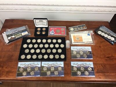 2011 National Parks State Quarters Uncirculated Set - Philadelphia Mint