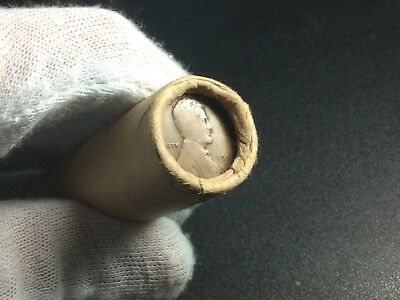 Vintage Sealed Wheat Penny Roll Capped By 1909 VDB Penny And 1909 S Penny